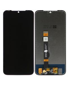 Refurbished - LCD Screen and Digitizer Assembly for Motorola Moto G8 Plus (No Frame) (Black)