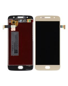 LCD Screen and Digitizer Assembly for Motorola Moto G5S (No Frame) (Gold)