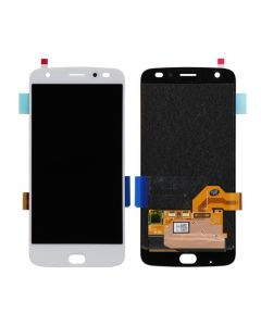 LCD Screen and Digitizer Assembly for Motorola Moto Z2 Force (XT1789) (No Frame) (White)