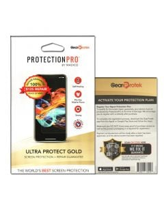 (10 Pack) ProtectionPro - Ultra Protect Gold - Up to $125.00 Protection (Film not included)