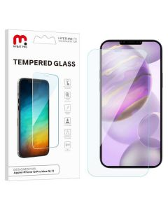 Apple iPhone 12 (6.7) - MyBat Pro Tempered Glass Screen Protector 2.5D - Clear