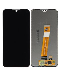 LCD Screen and Digitizer Assembly for Samsung Galaxy A01 (Narrow Connector) (Micro USB) (A015) (No Frame) (Black)