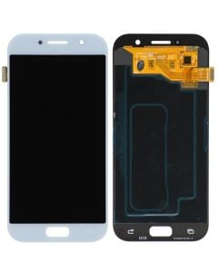 LCD Screen and Digitizer Assembly for Samsung Galaxy A5 (A520) (No Frame) (Blue Mist)
