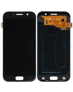 LCD Screen and Digitizer Assembly for Samsung Galaxy A5 (A520) (No Frame) (Black Sky)