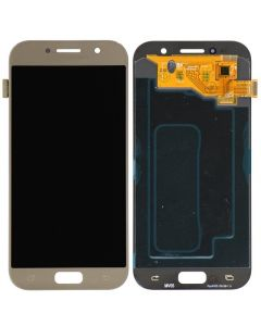 LCD Screen and Digitizer Assembly for Samsung Galaxy A5 (A520) (No Frame) (Gold Sand)