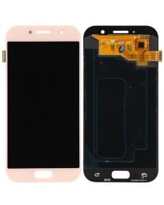 LCD Screen and Digitizer Assembly for Samsung Galaxy A5 (A520) (No Frame) (Pink)