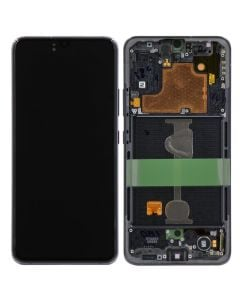 OLED Screen and Digitizer Assembly w/ Frame for Samsung Galaxy A90 (5G) (A908) (Black)