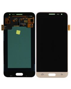 LCD Screen and Digitizer Assembly for Samsung Galaxy J3 (J320) (No Frame) (Gold)