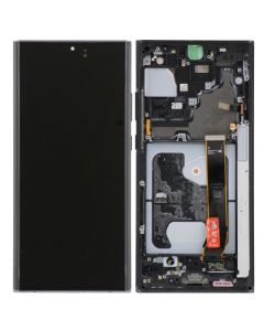 Refurbished - OLED Screen and Digitizer Assembly w/ Frame for Samsung Note 20 Ultra (N985) (Mystic Black)