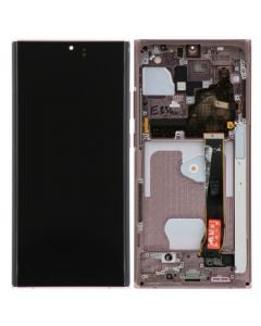 Refurbished - OLED Screen and Digitizer Assembly w/ Frame for Samsung Note 20 Ultra (N985) (Mystic Bronze)
