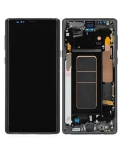 Refurbished - OLED Screen and Digitizer Assembly w/ Frame for Samsung Galaxy Note 9 (N960) (Midnight Black)