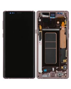 Refurbished - OLED Screen and Digitizer Assembly w/ Frame for Samsung Galaxy Note 9 (N960) (Metallic Copper)