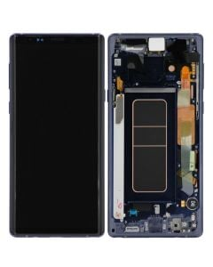 Service Pack - OLED Screen and Digitizer Assembly w/ Frame for Samsung Galaxy Note 9 (N960) (Ocean Blue)