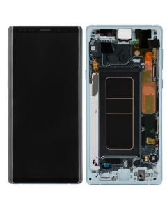 Service Pack - OLED Screen and Digitizer Assembly w/ Frame for Samsung Galaxy Note 9 (N960) (Pure White)