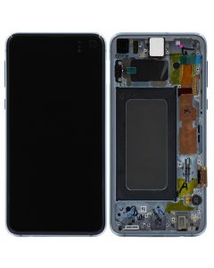 Service Pack - OLED Screen and Digitizer Assembly w/ Frame for Samsung Galaxy S10e (G970) (Prism Blue)