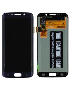 Refurbished - OLED Screen and Digitizer Assembly for Samsung Galaxy S6 Edge (G925) (No Frame) (Black Sapphire)