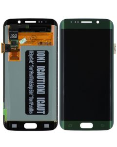 Refurbished - OLED Screen and Digitizer Assembly for Samsung Galaxy S6 Edge (G925) (No Frame) (Green Emerald)