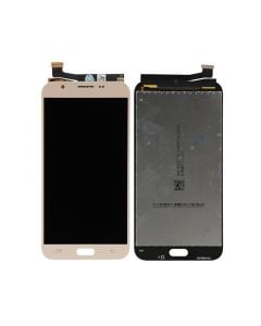 LCD Screen and Digitizer Assembly for Samsung Galaxy J7 Perx (J727) (No Frame) (Gold)