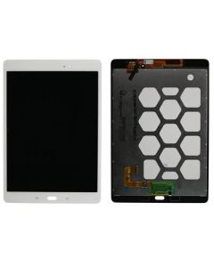"""Refurbished - LCD Screen and Digitizer Assembly for Samsung Galaxy Tab A 9.7"""" (T550) (No Frame) (White)"""