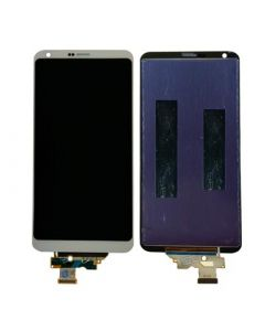 LCD Screen and Digitizer Assembly for LG G6 (No Frame) (White)