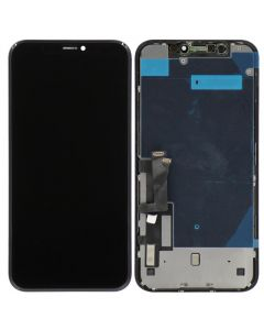 Aftermarket LCD Screen and Digitizer Assembly, Black, For iPhone XR (COF)