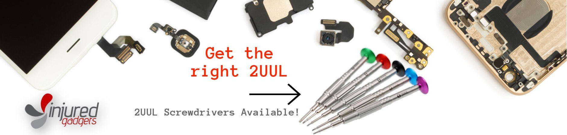 2UUL Screwdrivers now available!